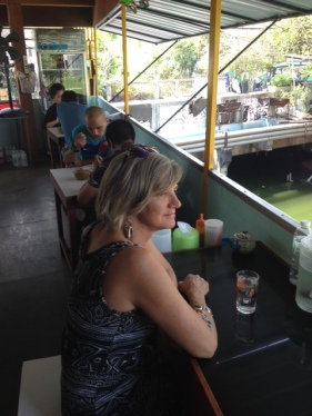 A favorite eatery with water view