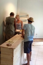Building a coffee counter