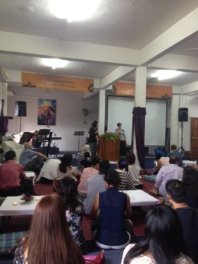 A YWAM function at the NRTC